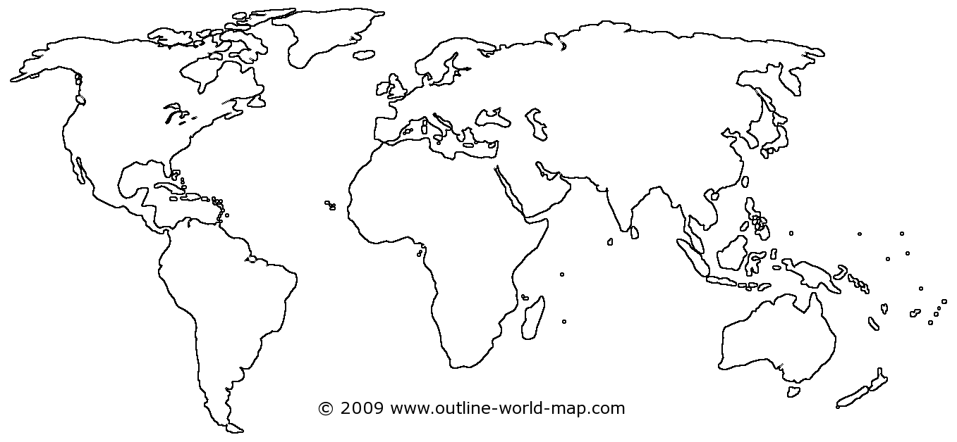 Blank maps of the world with transparent areas outline world map small image link to the big world map b2b gumiabroncs
