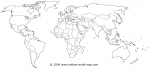 Linking image of solid-white group to the world map b6a